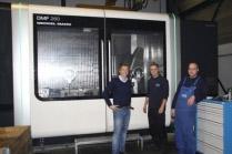 MCM neemt nieuw 5 assig bewerkingcentrum in gebruik